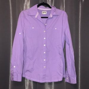 Converse Button Down Shirt Size Medium